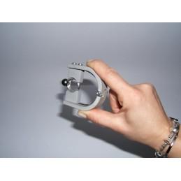 Confezione 50 bustine metallizzata da regalo 80x100 mm col. argento