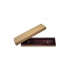 """Astuccio linea """"Tessa Bianca"""" per orecchini/pendenti 62x62 h20 mm + shopper"""