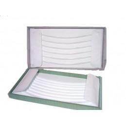 Rotolo per bracciali 18 canali con anelline + striscetta coprianelline 750x250 mm Serie Luxury