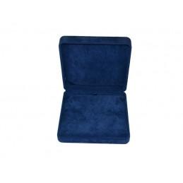 Stock di 2 rotoli blu martellato 12canali 250x665