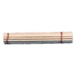 Set de 24 láminas de madera para limpieza