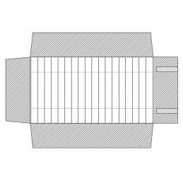 Rotolo 12 canali alti con elastici  300x750 mm