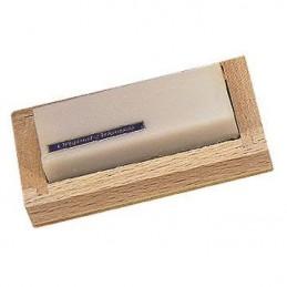 Pietra Arkansas originale 9x2,5 cm + astuccio di legno
