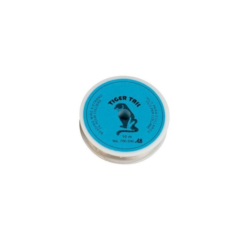 Filo per collane semi-rigido 0,45 mm x 10 mt