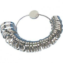 Misuratore anelli - anelliera in alluminio