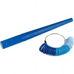 Spina e anelliera in plastica per misurare anelli