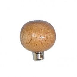 """Manico in legno per bulini a """"Palla"""" 34x32 mm"""