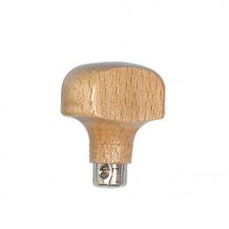 Manico in legno per bulini 34x41mm