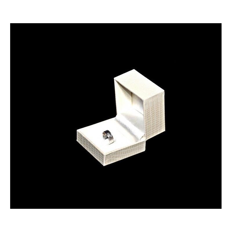"""Astuccio """"Polinesia"""" per anello 59x59 h 46 mm"""