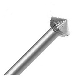 Maillefer steel burs double cone Fig. HD - 6pc
