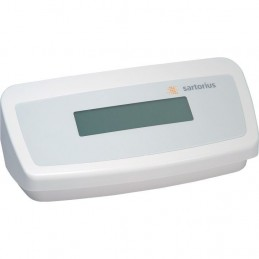 Additional display for Sartorius scales