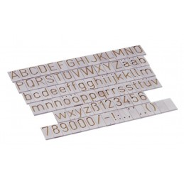 Lettering template for Elma Engraving Machine