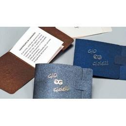 Certificado de garantia  personalizada 6.2x8.2cm - conf.100pcs
