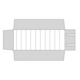 Mezzo rotolo 10 canali 250x500mm