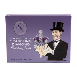 Sparkling diamond polishing cloth - 30x30cm - kit 3pz