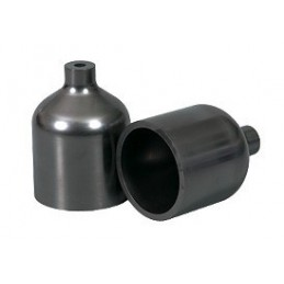 Isostatic graphite crucible G1 d.60x92,7