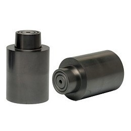 Isostatic graphite crucible FIM5 d. 80X125