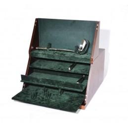 Baule in legno portaposate 380x420xh220mm