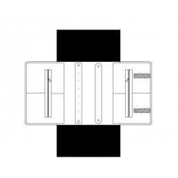 Mezzo rotolo misto Serie Luxury 270x220 mm