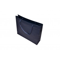 Stock di 10 shopper telata blu 214x58 h184 mm