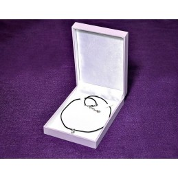 """Stock 6 jewelbox """"Purple"""" for small necklace 110X158 h38 mm"""
