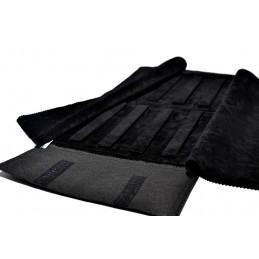 Media mantas 2 bases rígidas con 8 tiras elevado desmontables para pendientes con botones ocultos 250x500 serie Luxury