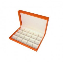 Presentation box 20 squares (45x38mm) - 260x180 mm