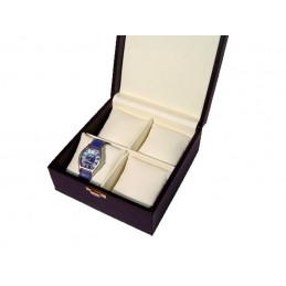 Art. M32 Presentation box with pillow for 4 watches 195x185xh90m