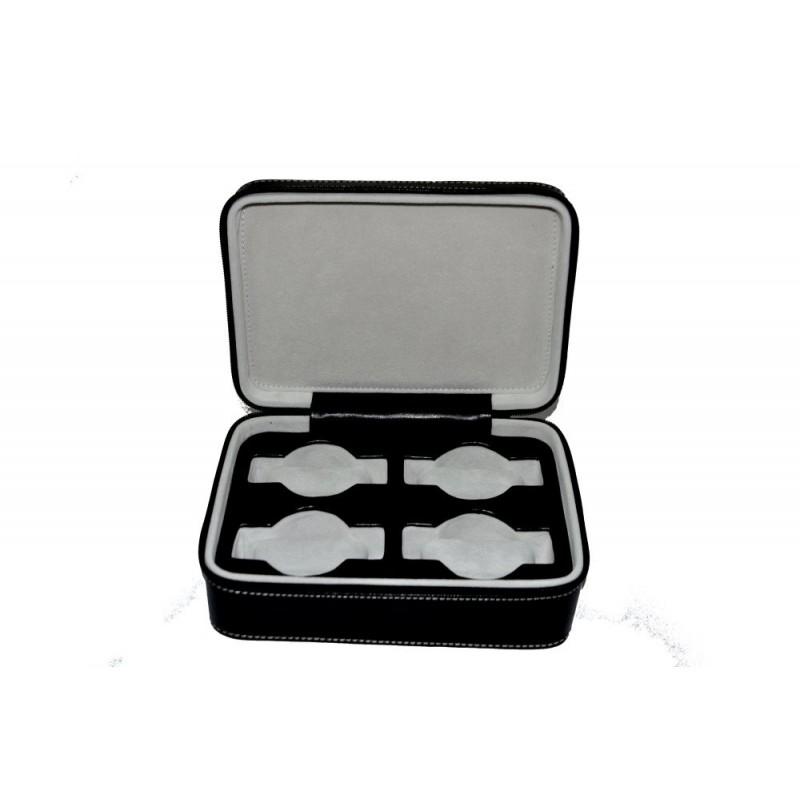 Custodia 4 impronte per orologi + chiusura zip 150x220 h70 mm