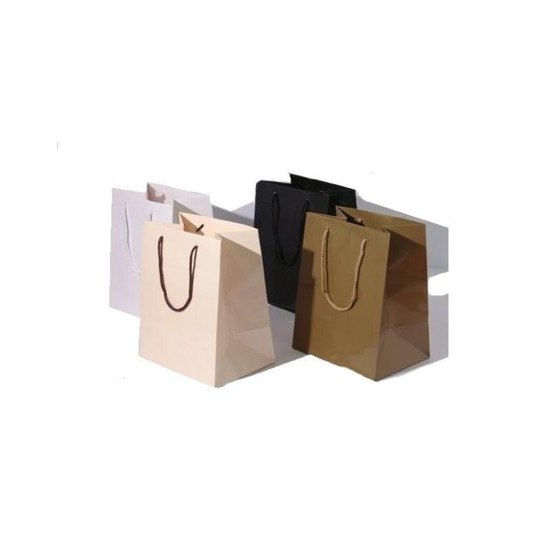 """Set di 10 shopper """"Lux""""  h 250x145x200 mm"""