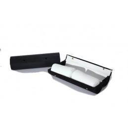 Long hard bangle case with 2 cylinders 300xdiam. 80 mm