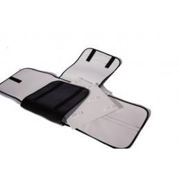 Portaparure con 5 schede rigide asportabili 18x18 cm