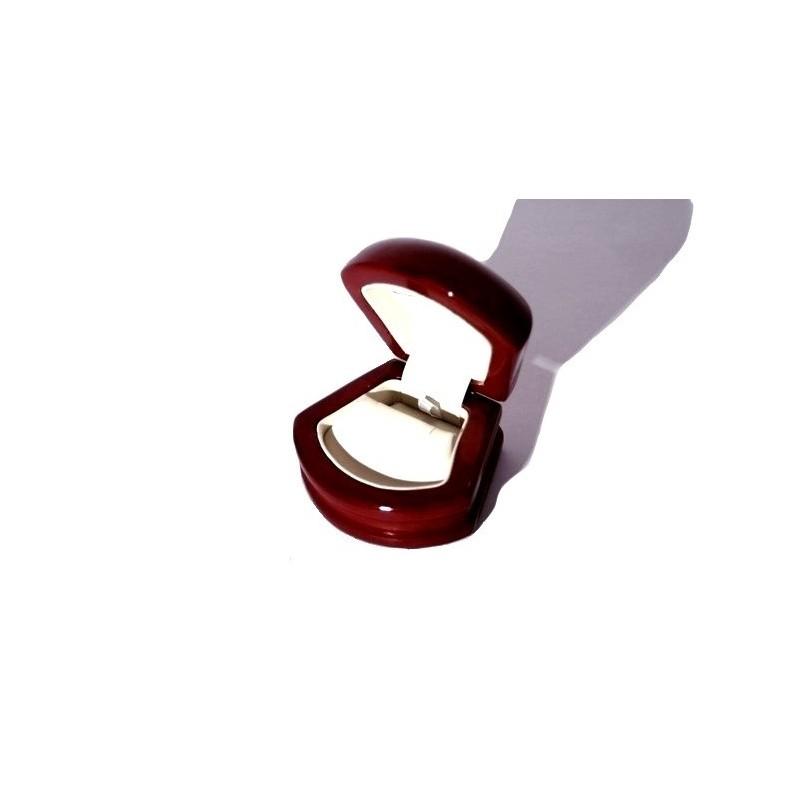 """Astuccio linea """"Conchiglia 2"""" per orecchini 80x70 h50 mm"""