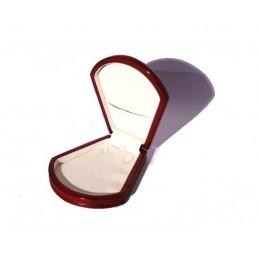 Wood jewelbox conchiglia 2 serie small necklace 180x120x50mm