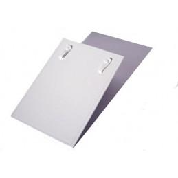 Placa rigida rectangular collar de hoja de 17x24 cm Individual