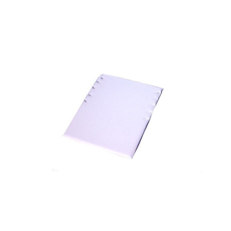Rectangular display pad 5 slots for necklaces