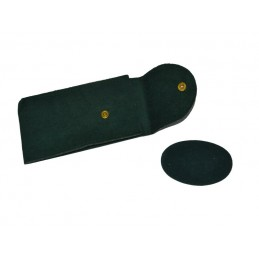 Tasca per orologio bottone 140x70mm + soffietto 15 mm e ovalino  - 10 pezzi
