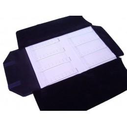 Mezzo rotolo 2 basi rigide 8 strisce velcro + tagli
