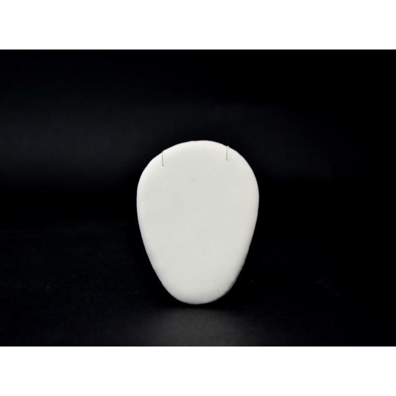 Supporto ovale paia orecchini con tagli 75x100 mm