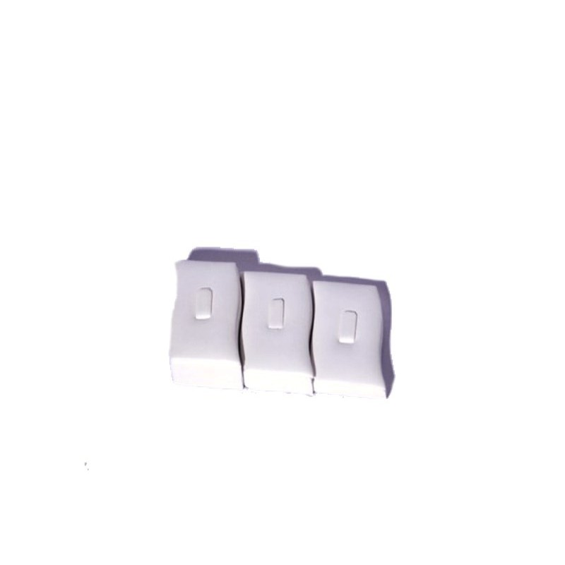 Espositore Onda piccolo a scala per 3 anelli - 3 pezzi