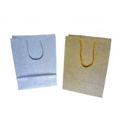 Set di 10 shopper glitter...