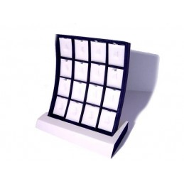"Display ""Arco"" 16 squares+ extraible for rings"