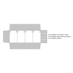Rotolo 4 basi rigide per colliers