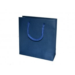 """Set de 10 Shopper """"Basic Azul"""" H160 P52 L170 mm"""
