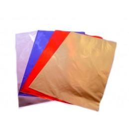 Set of 50 metallic bags...