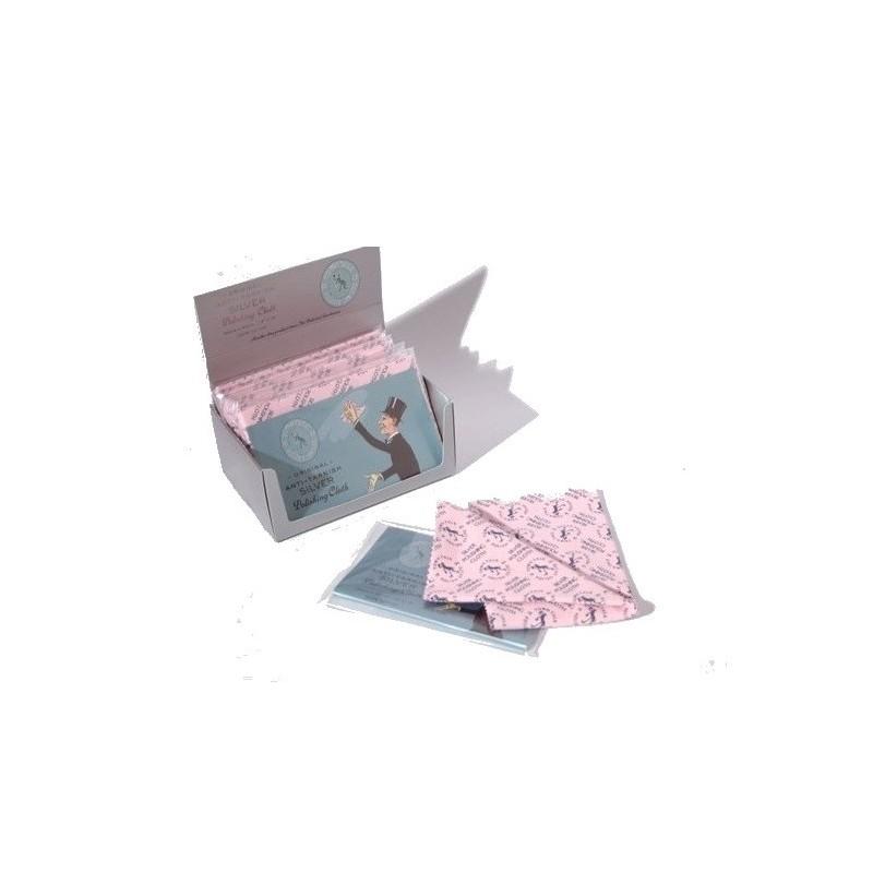 Panno per lucidare l'argento 30x45 cm - set 12 pezzi