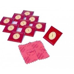 Mini gold polishing cloth...