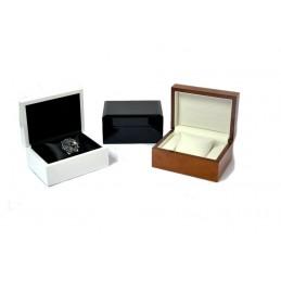 Custodia in vero legno per 1 orologio 16x12 h8 cm