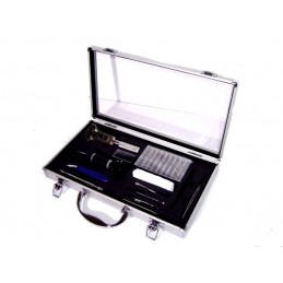 Carrying case with tool kit...