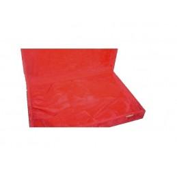 Cassetta in floccato rosso...